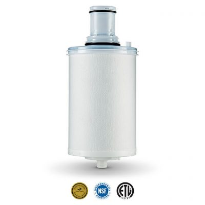 white espring water purifier cartridge replacement NSF certified and ETL listed