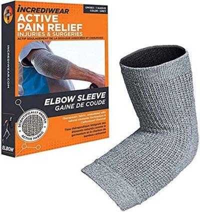 grey elbow sleeve