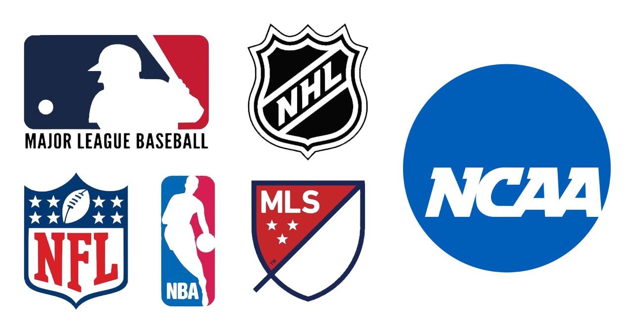 popular sports logos and ncaa