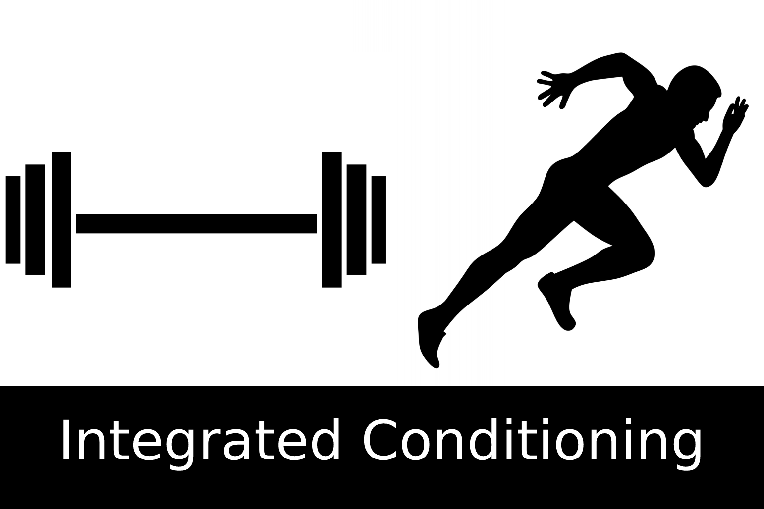 barbell, sprinter; integrated conditioning